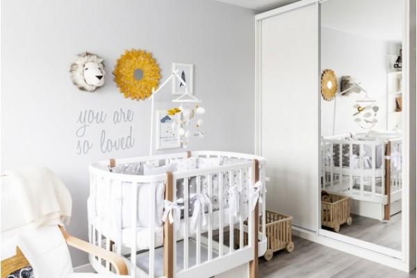 Как украсить детскую комнату? Декор детской в едином стиле.
