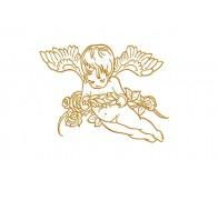 """Вышивка """"Ангел""""."""