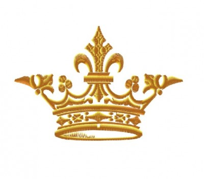 "Вышивка ""Корона"". Вариант 1."