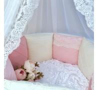 Бортики в овальную кроватку и кроватку-трансформер