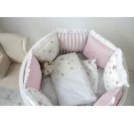 """Комплект """"Звездный"""" в овальную кроватку"""