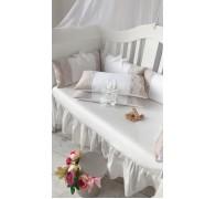 Бортики-подушки на прямоугольную кроватку
