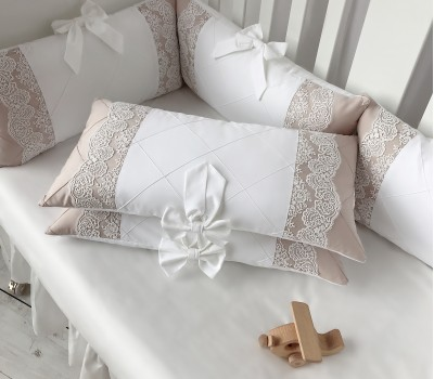 """Комплект в кроватку """"Зефир"""". Для прямоугольной 120*60 см, овальной 125*75 (75*75) см."""