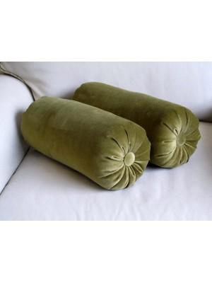 "Декоративная подушка ""Валик"".  Материал: велюр."