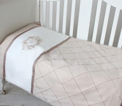 """Комплект постельного белья """"Утонченность"""" (пододеяльник + наволочка). Цвет на Ваш выбор."""