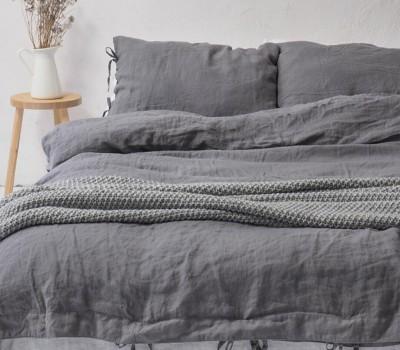 Комплект постельного белья из органического хлопка (для любой кровати, в том числе для взрослой).