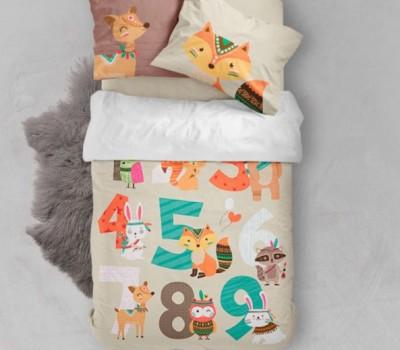 Комплект постельного белья (пододеяльник + наволочка)