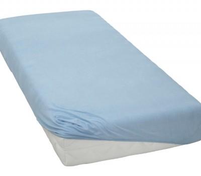 Простынь на резинке на прямоугольную, круглую или овальную кроватку.