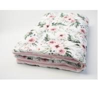 Одеяло простое цветное с легким и теплым наполнителем TERMOLOFT ® LUX