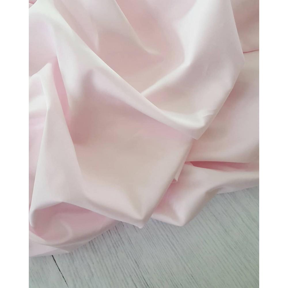 Сатин премиум (100% хлопок). Цвет: бледно-розовый Люкс