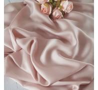 Тенсель (100% хлопок). Цвет: пудра бежево-розовая