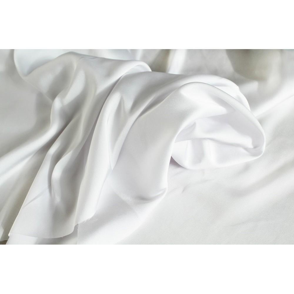 Шелк (100% п/э). Цвет: белый
