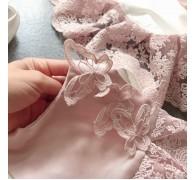 Платье на выписку для новорожденной девочки.